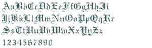 Unicalblacklettermedieval_Certificateregular_font_preview_32106_2
